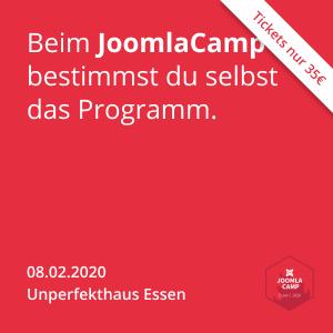 JoomlaCamp 2020