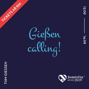 JoomlaDay Deutschland 2019