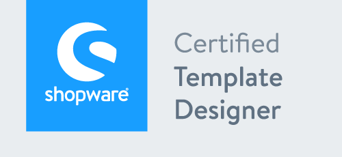 certified shopware template designer