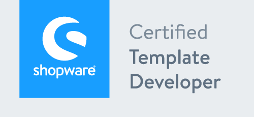 certified shopware template developer